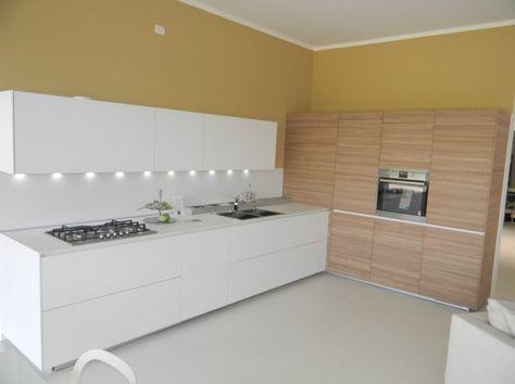 Cucina angolare moderna cucina chiara ad angolo cucina