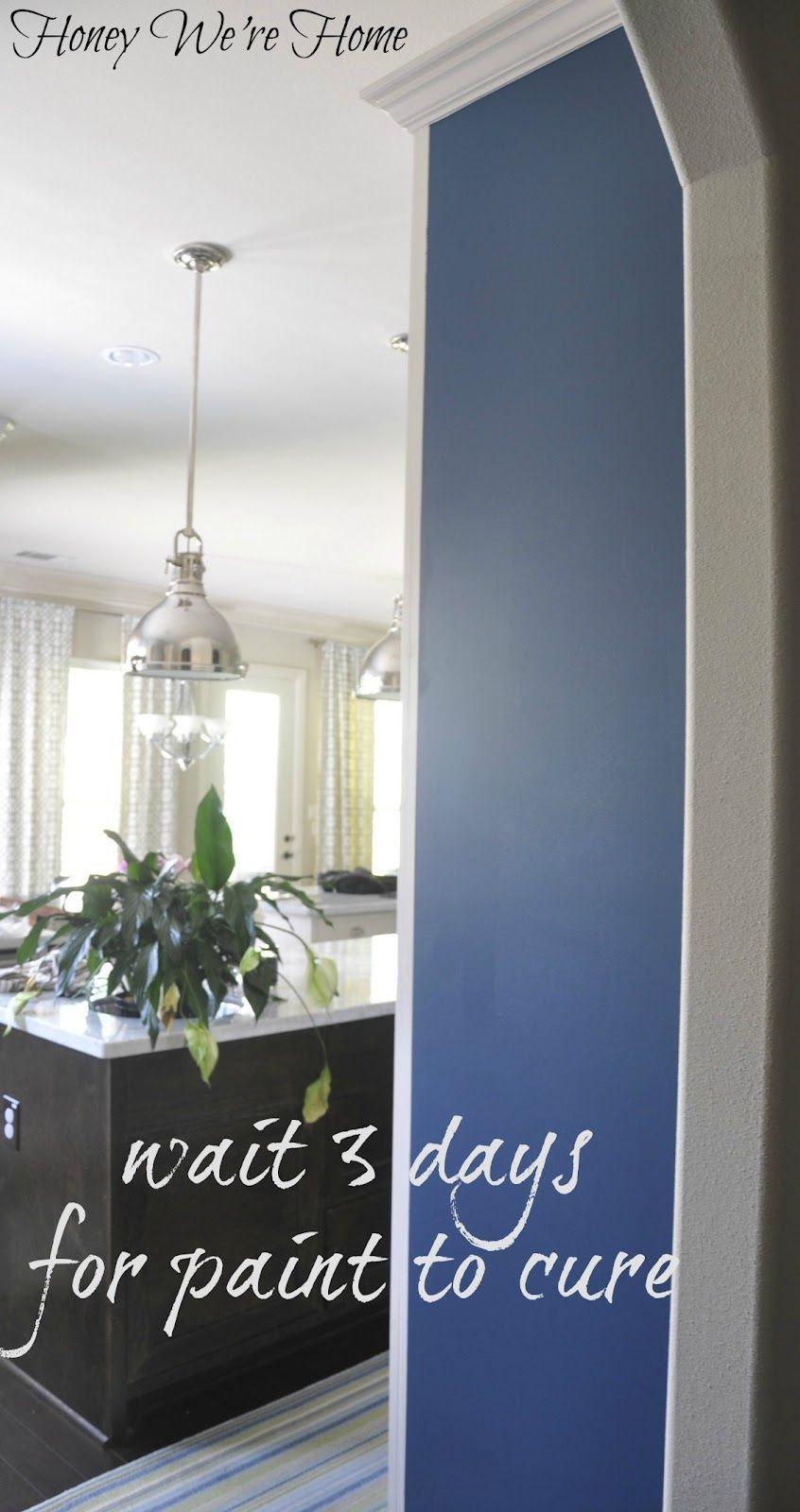 Honey We\'re Home: DIY (Kitchen Chalkboard Wall)   DIY   Pinterest ...