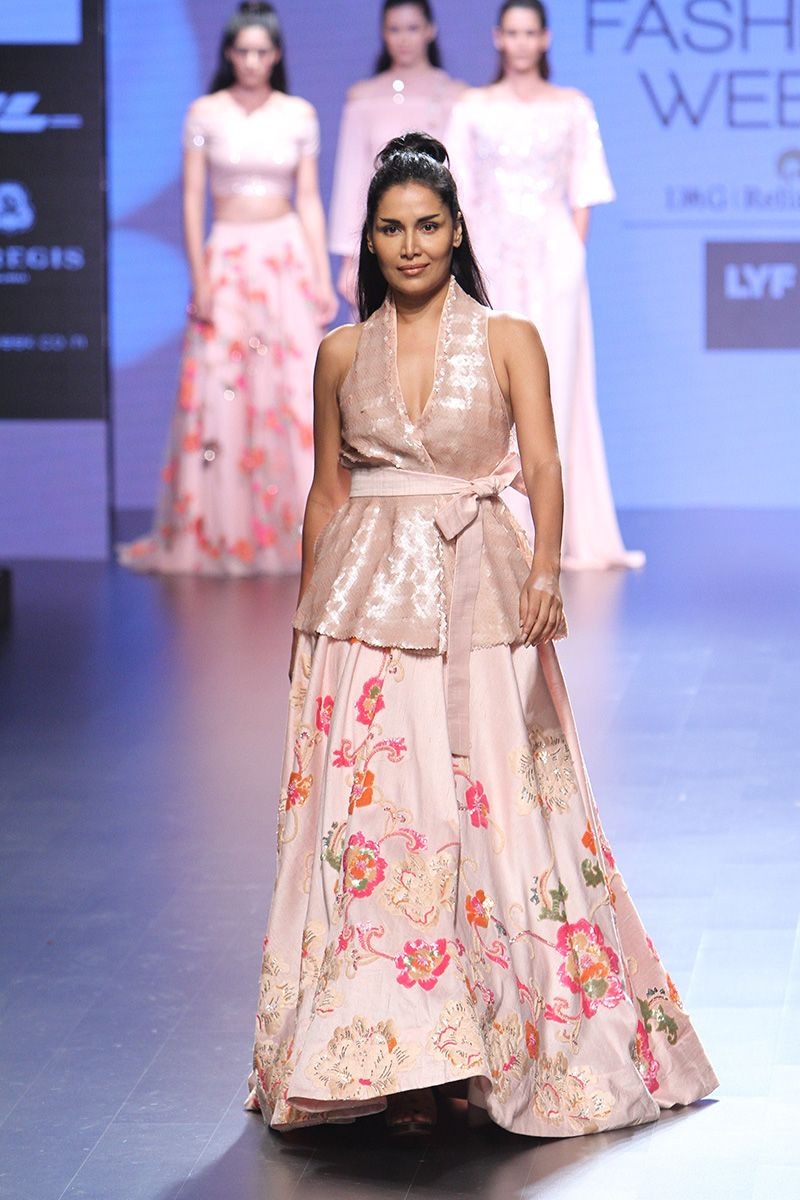 Fashion week Colors Delicate modern dresses by neeta lulla for girls