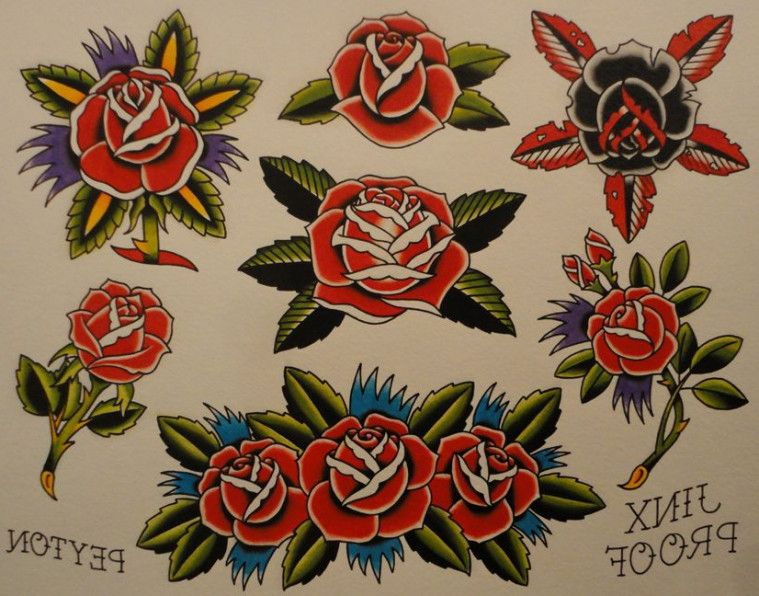 The Real Reason Behind Sailor Jerry Rose Sailor Jerry Rose Traditional Rose Tattoos Traditional Tattoo American Traditional Tattoo