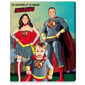 Fun & Unique Father's Day Ideas from Kids that Dads Will Love #superherogifts