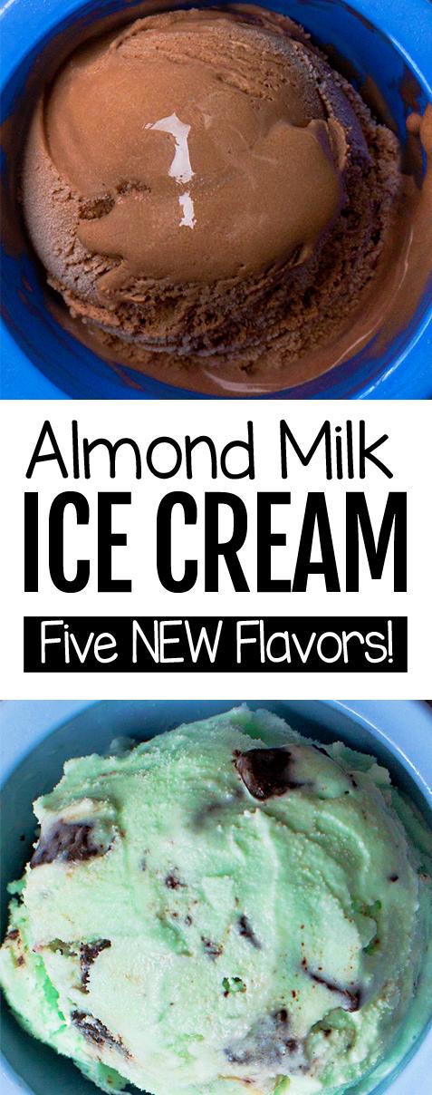 Pin By Jewel On Sweets In 2020 Vegan Ice Cream Recipe Almond Milk Ice Cream Recipe Almond Milk Recipes