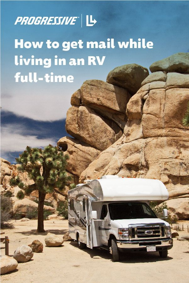 How to get mail while fulltime RVing in 2020 Rv travel