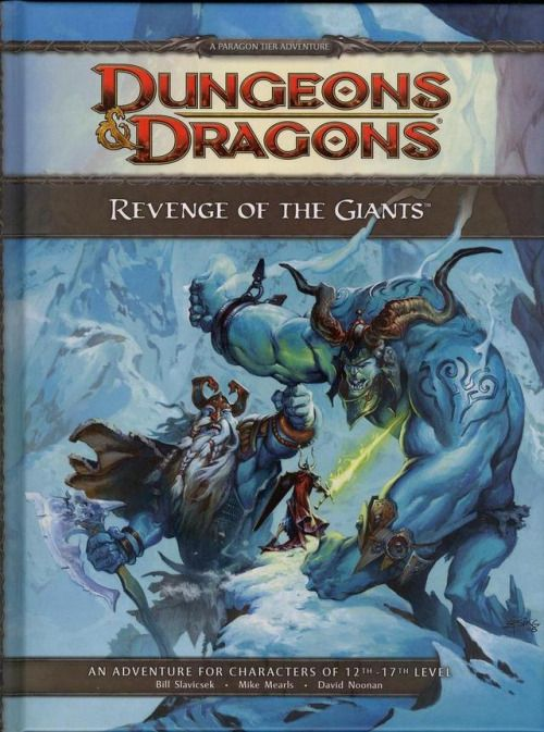 D D Revenge Of The Giants Wizards Of The Cost 2009