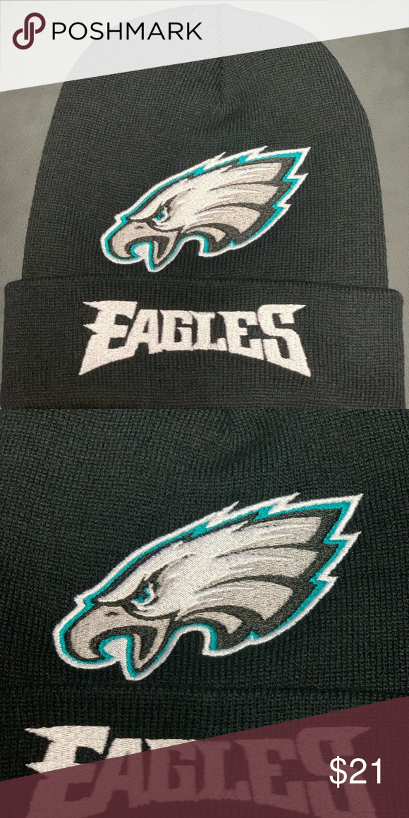 0172aebf Philadelphia Eagles beanie skullcap hat New embroidered Philadelphia ...