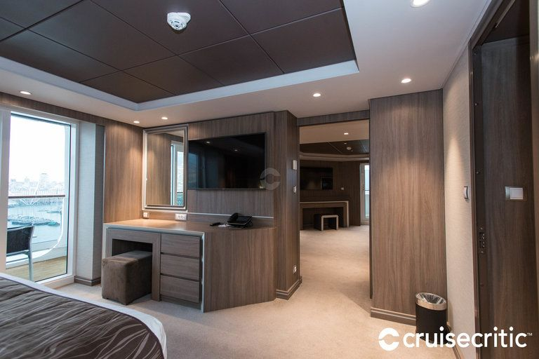 The MSC Yacht Club Royal Suite on MSC Meraviglia | Yacht ...