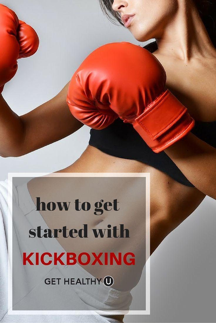 Kickbox-Routine zum Abnehmen