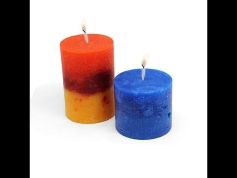 Video tutorial para aprender a hacer Velas Rústicas ...