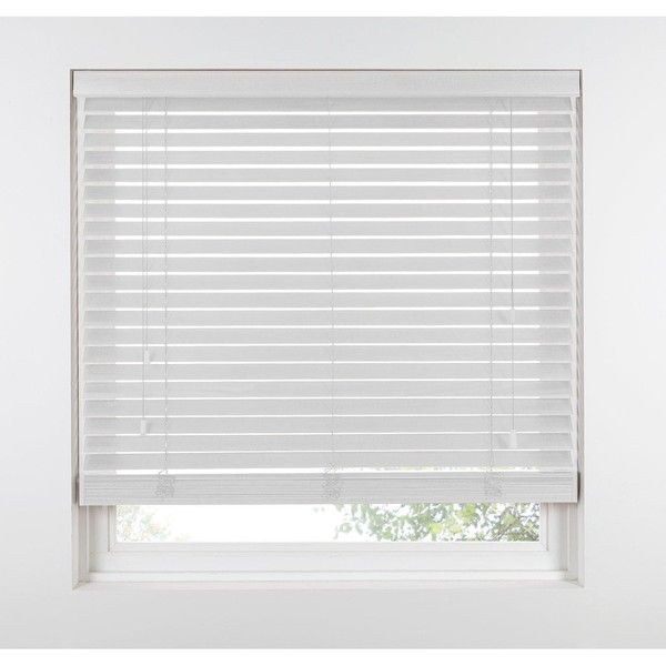 Made To Measure 50 Mm Wooden Venetian Blinds 46 Liked On Polyvore Featuring Home Home Decor Window Treatments W Blinds For Windows Window Shades Design