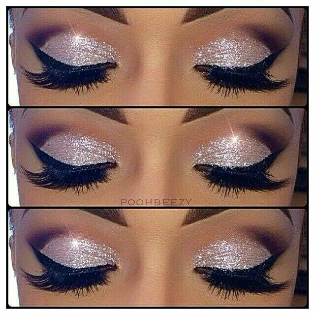 I Am Trying These Eyes Out This Weekend Glitter Makeup Pinterest
