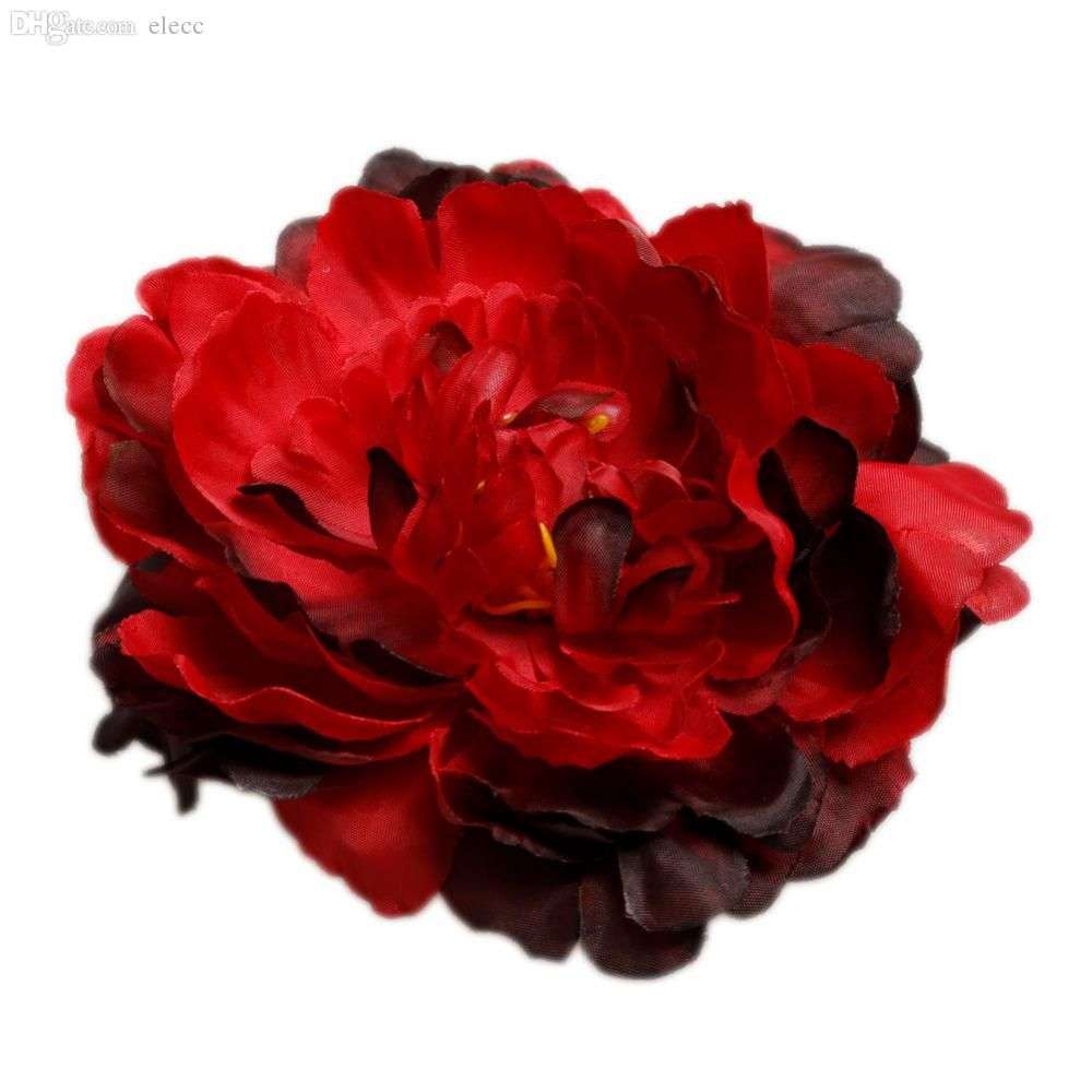 Online Cheap Wholesale Hot 12cm Simulation Large Peony Artificial