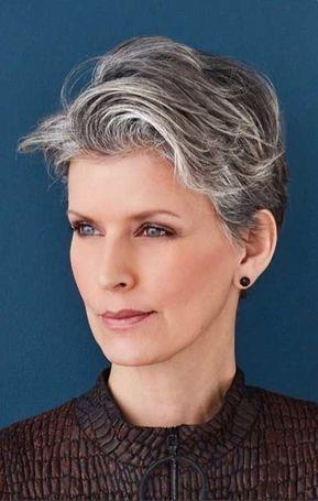 Classy Pixie Haircuts For Older Women Siwe Jest Piękne