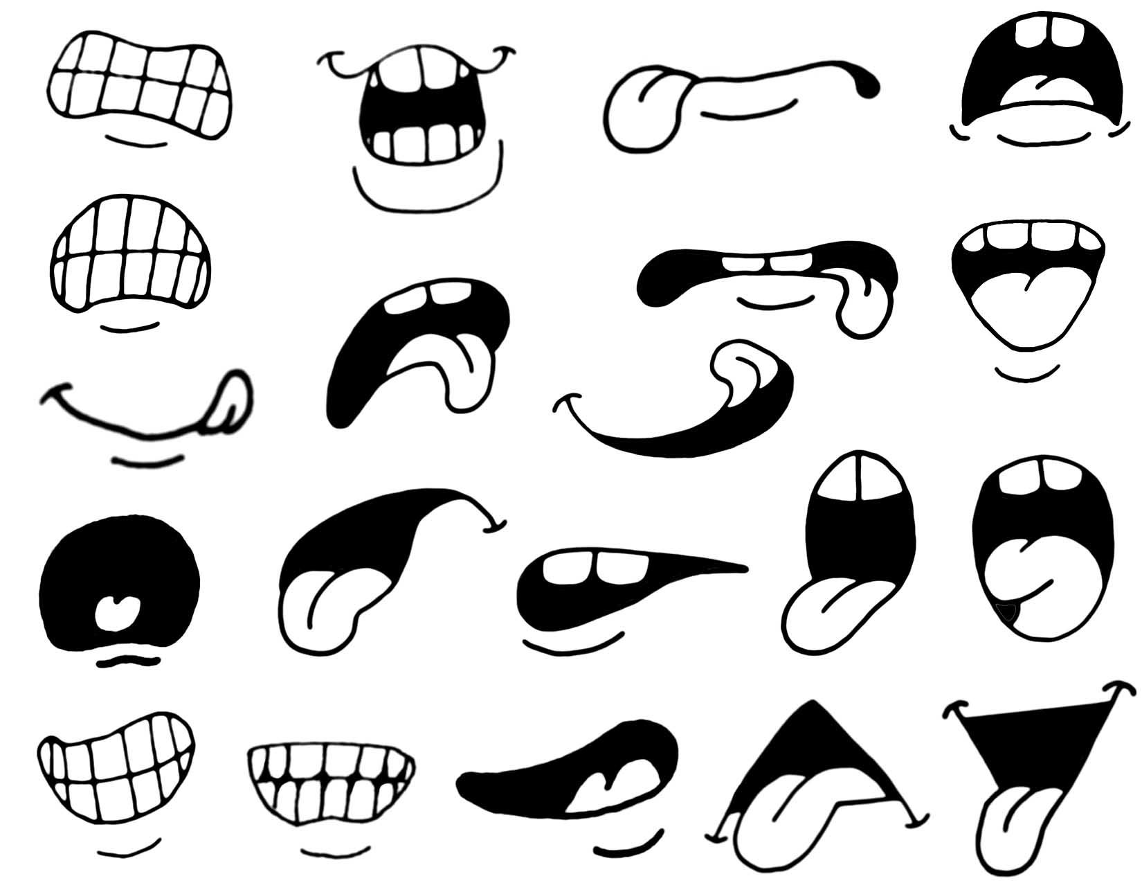 Intermediate Mouths Slightly More Difficult Copy