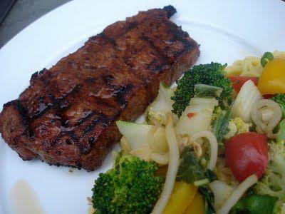 Best Steak for Grilling Flavor   Ginger-Soy Grilled Steaks