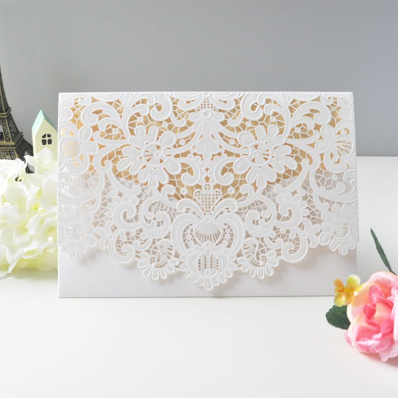 Online Get Cheap Blank Embossed Wedding Invitations -Aliexpress ...