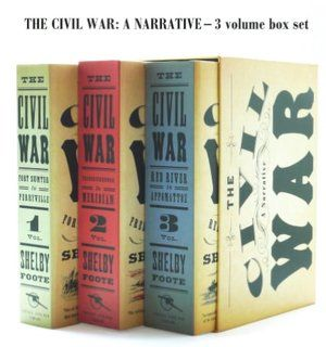 The Civil War A Narrative Volumes 1 3 Civil War Books Civil War Boxset