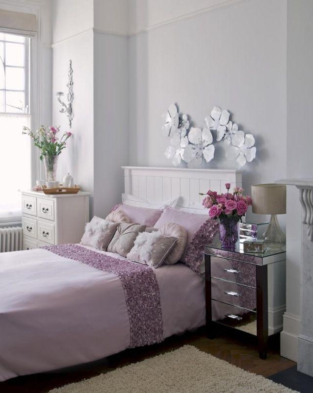 Décoration chambre adulte romantique - 28 idées inspirantes | Fleurs ...
