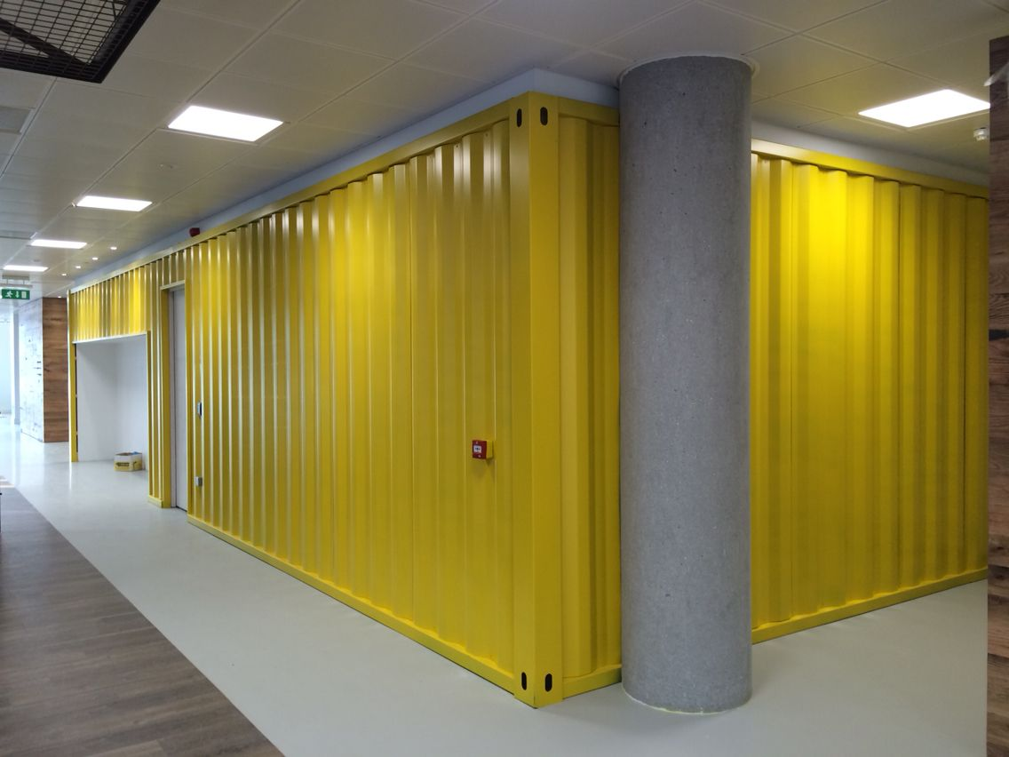 Shipping Container Style Cladding By Cds Home Decor