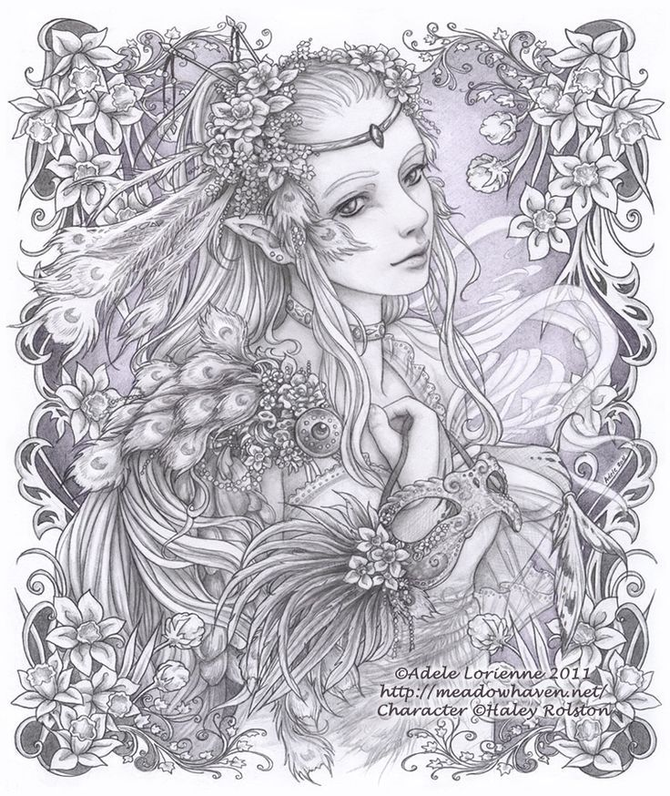 Elfes et F es Fairy Myth Mythical Mystical Legend Elf