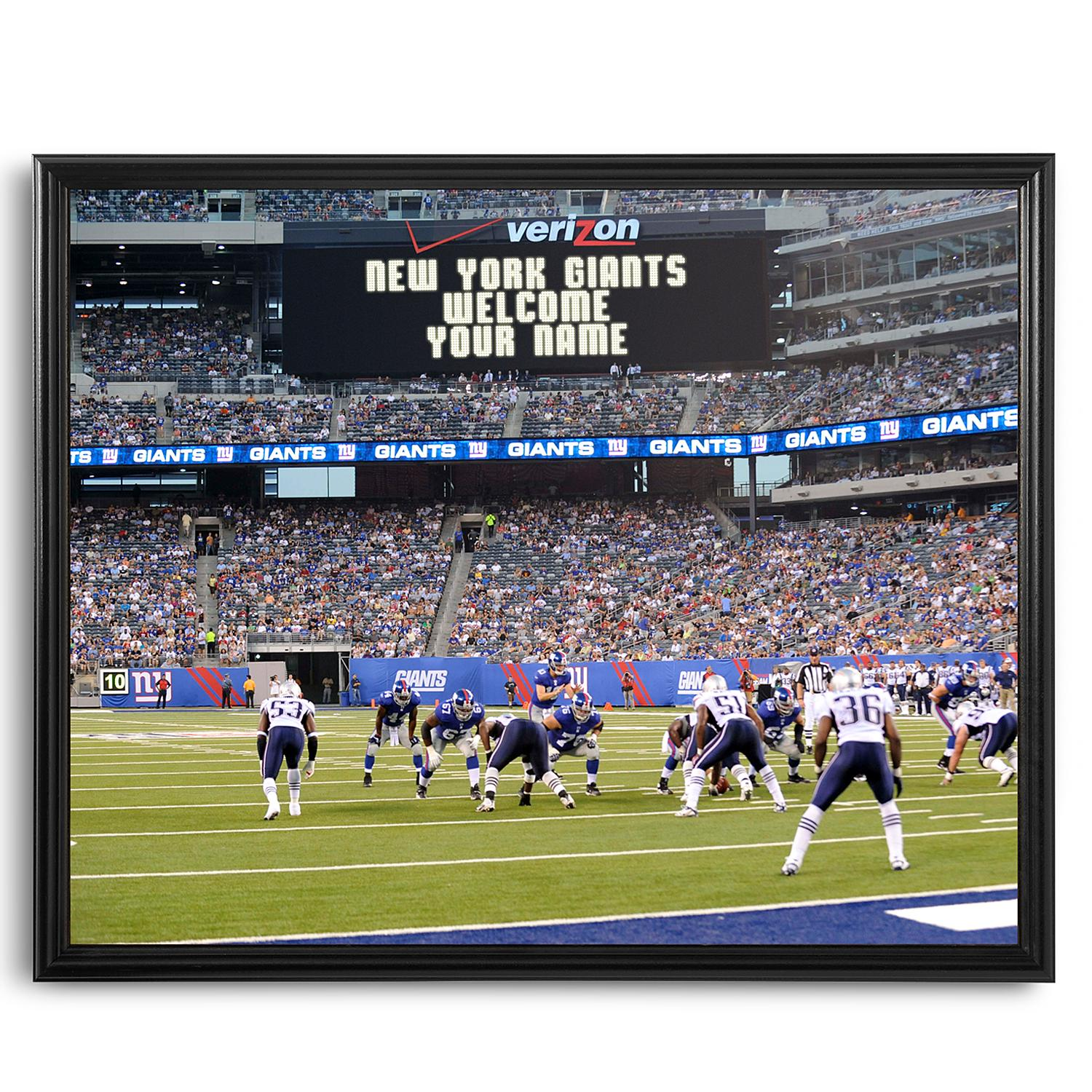 Personalized NFL Scoreboard New York Giants 16x20 Canvas - Personal  Creations Gifts 3ba2346ae