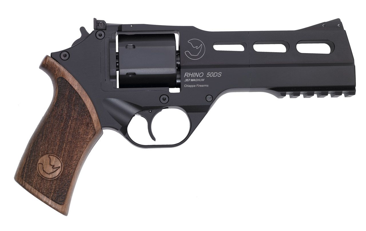 Chiappa Rhino 5inch .357. Very cool revolver.