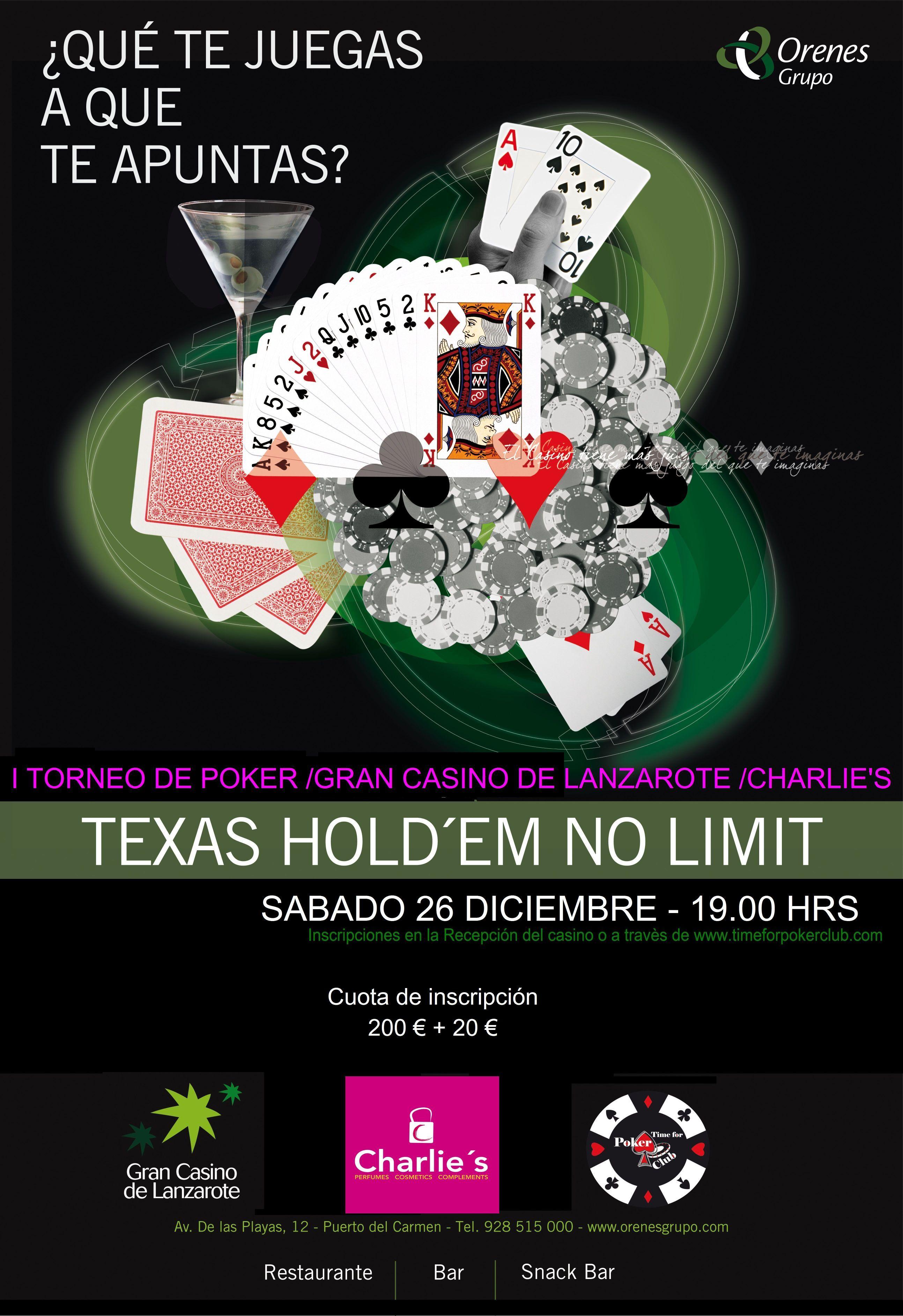 Casino atlantico torneo poker odds