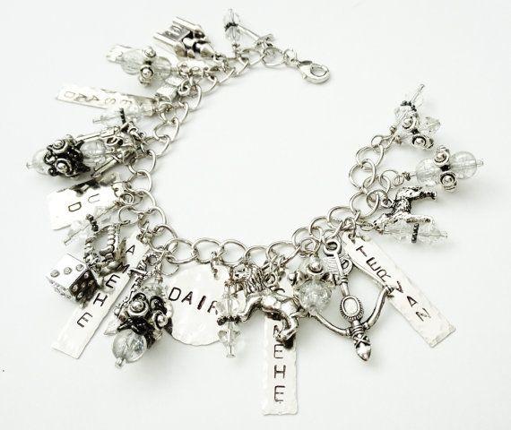 Kate Daniels Inspired Charm Bracelet