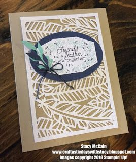 Paper Pumpkin Alternative Ideas - October 2018 - Friends of a Feather from Stampin' Up!