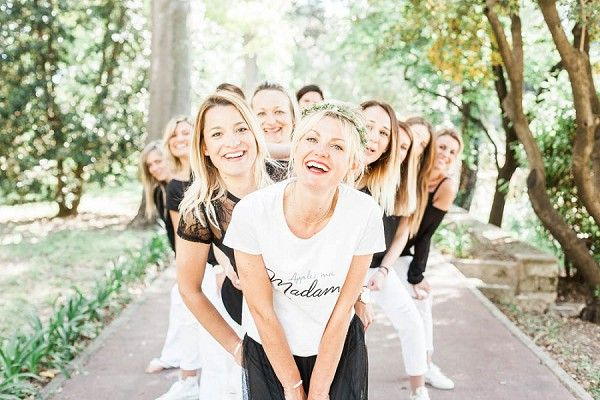 French Inspired Bachelorette Party - French Wedding Style
