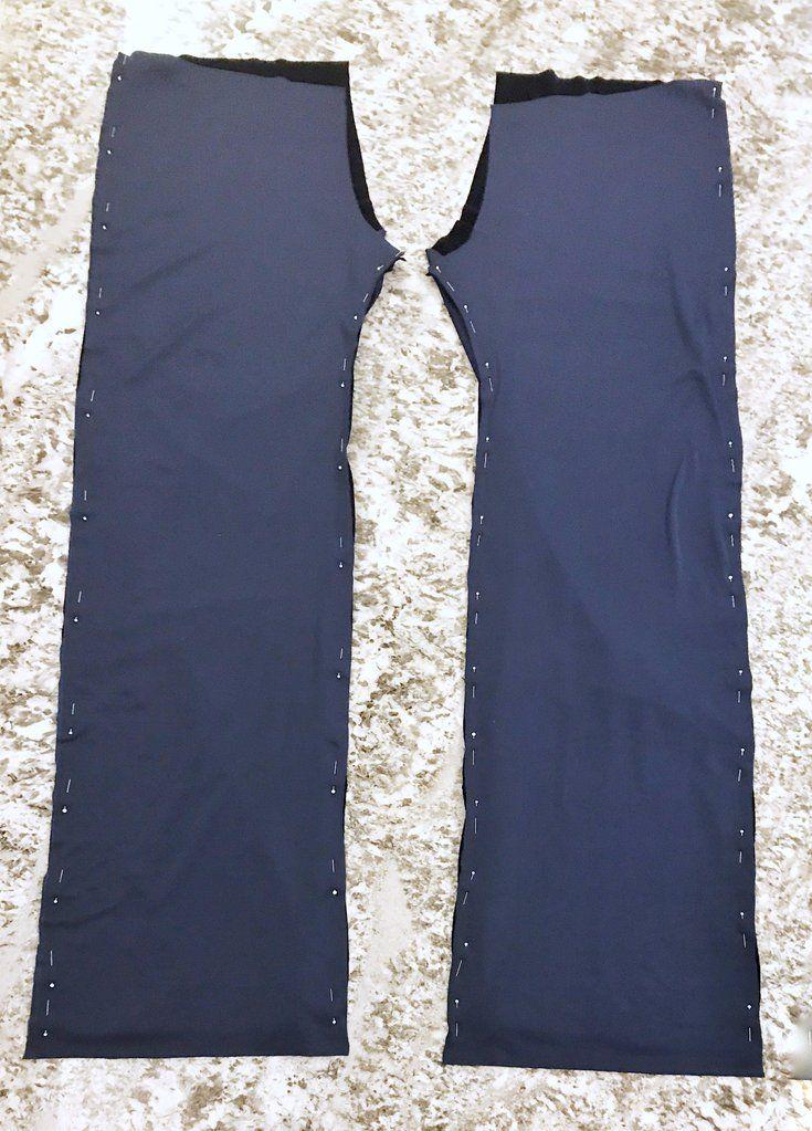 DIY Velvet Wide Leg Pants Sewing Tutorial -   19 DIY Clothes For Winter fabrics ideas