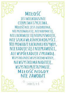 Plakaty Z Cytatami Z Biblii Plakaty Do Pobrania