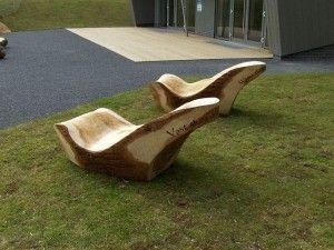 Skywatch Seats Seating Wood Sculpture Design