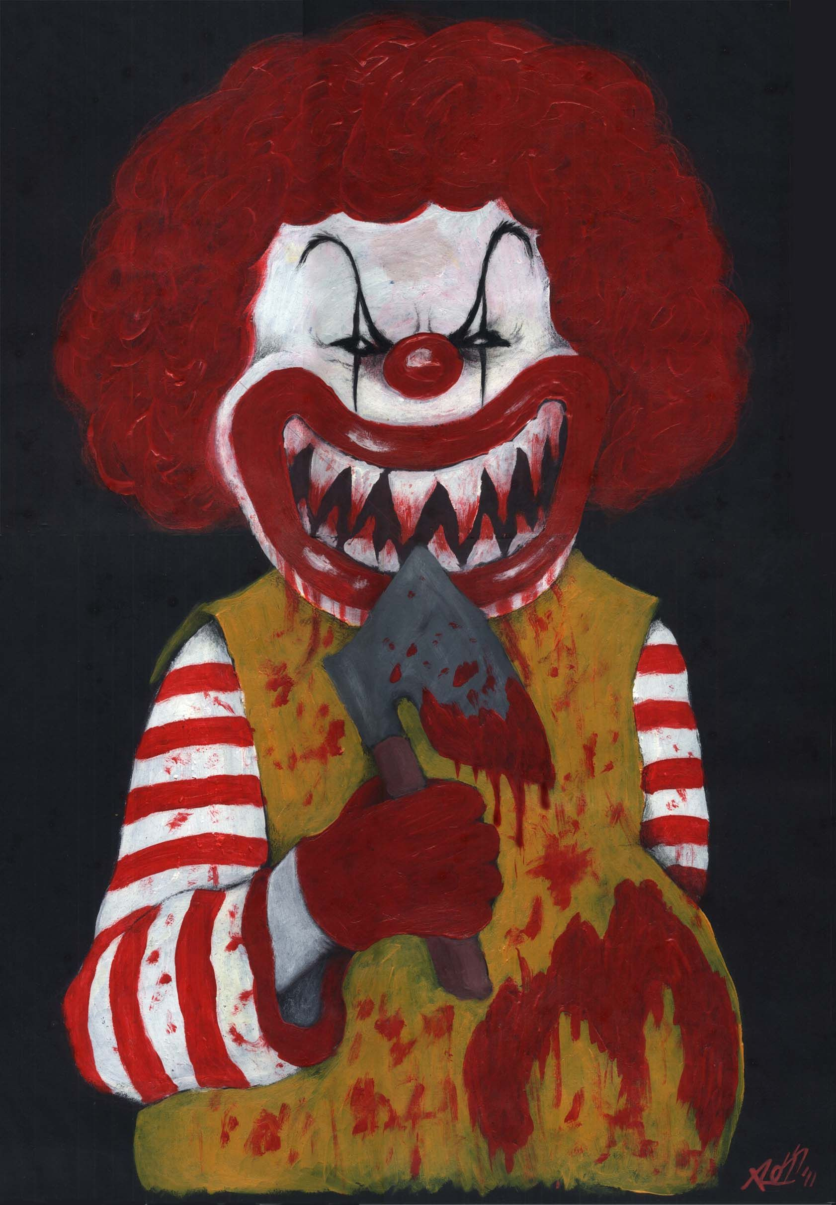 killer ronald mcdonald meme go mc fuck yourself