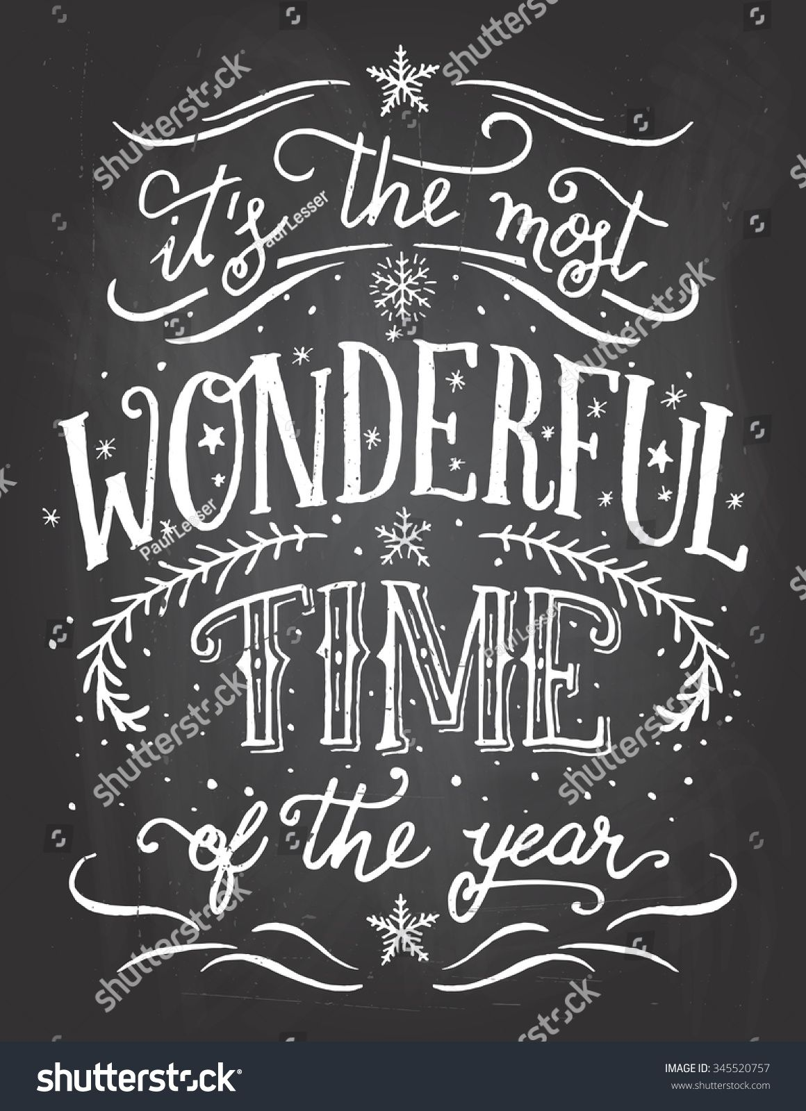 Image result for chalkboard art it's the most wonderful