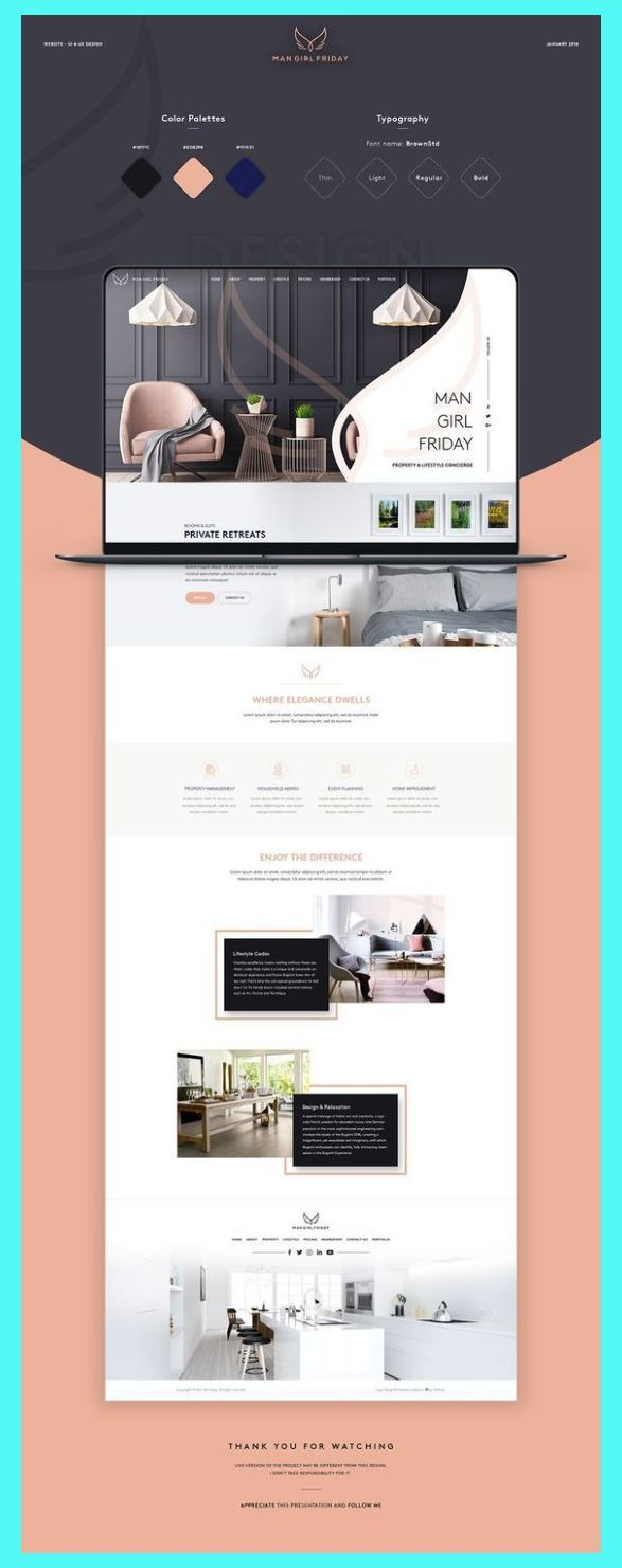 Ecommerce Web Design Layout This Is Our Daily Website Design Inspiration Article For Our L In 2020 Web Layout Design Portfolio Design Layout Website Design Layout