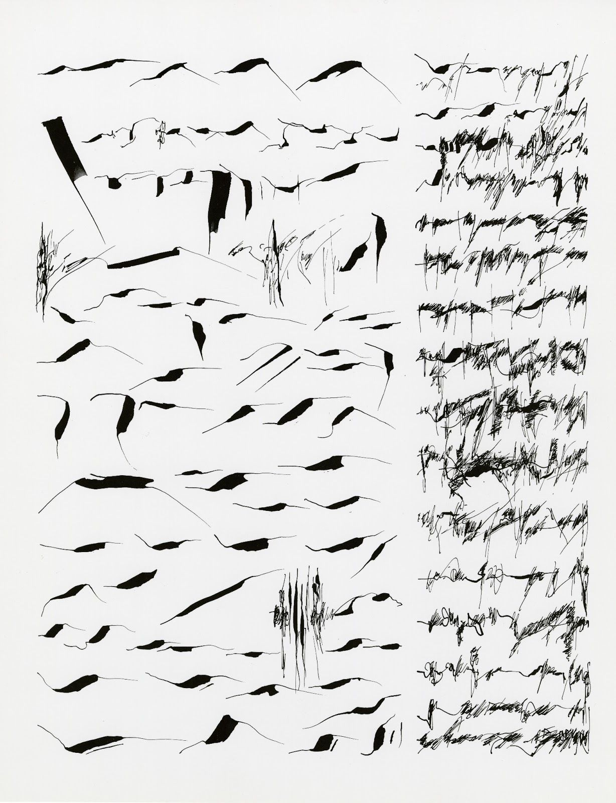 The New Post-literate: A Gallery Of Asemic Writing: Mirtha
