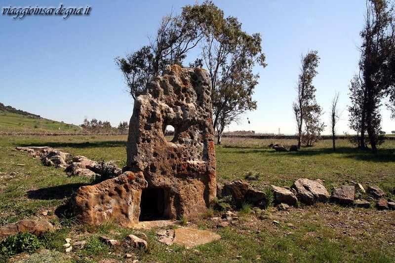 lunamatrona, tomba di giganti su quadd'e nixias
