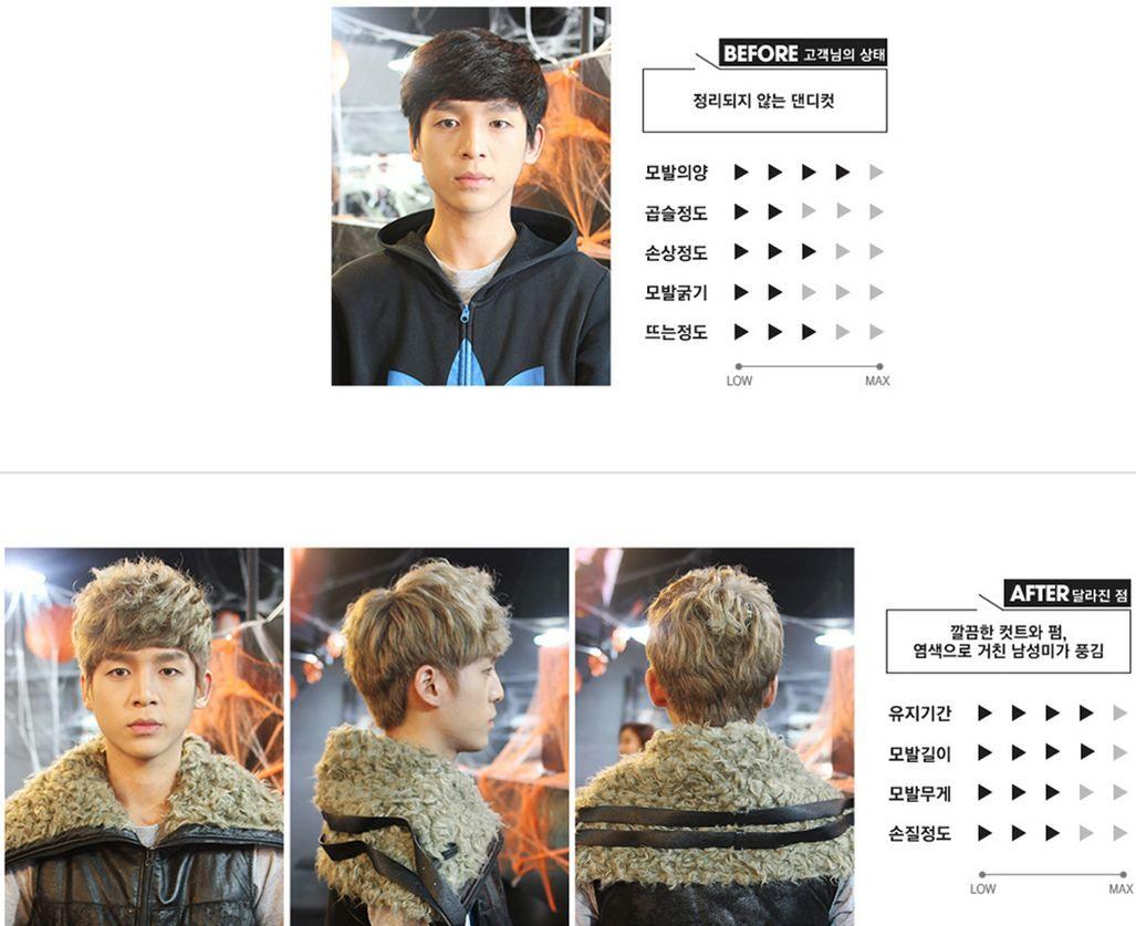 Straight hair perm guys - Korean Perm Before And After Korean Perm For Men Menperm Perm Kperm