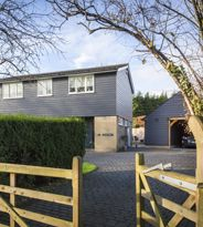 House featuring rot free weatherboarding alternative to timber & PVCu