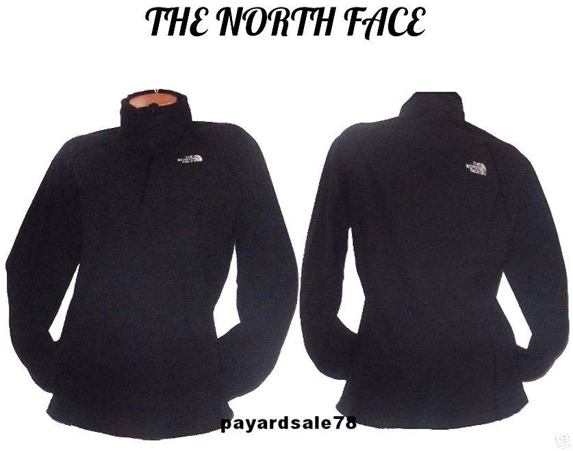 78ce815d932 THE NORTH FACE WOMEN'S BLACK FLEECE PULLOVER JACKET