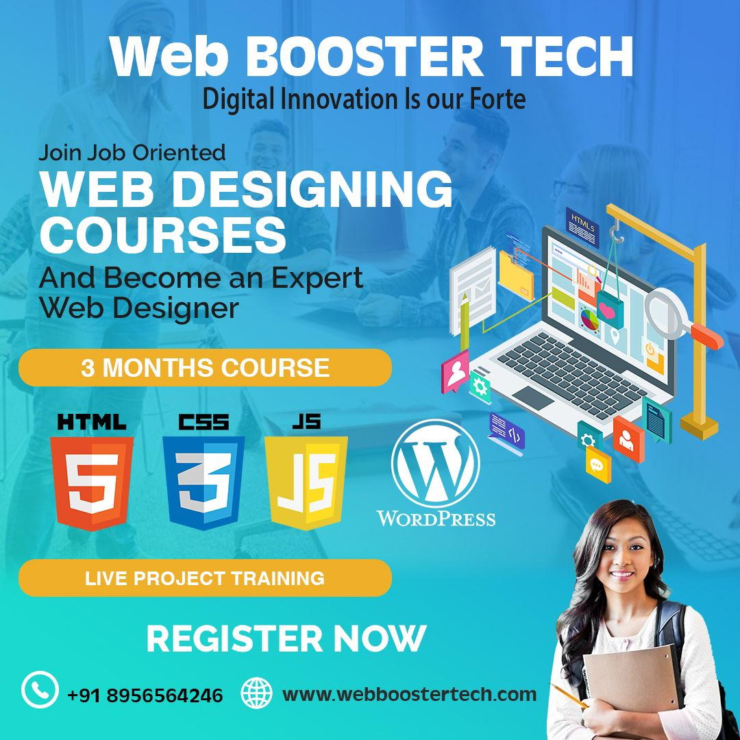 Great Opportunity For Your Career Web Booster Tech Offering The Best Courses Of In 2020 Digital Marketing Company Web Development