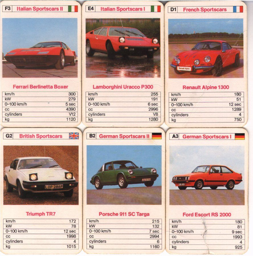 Top Trumps Sports Cars Cars Pinterest Top Trumps Sports - Sports cars top trumps