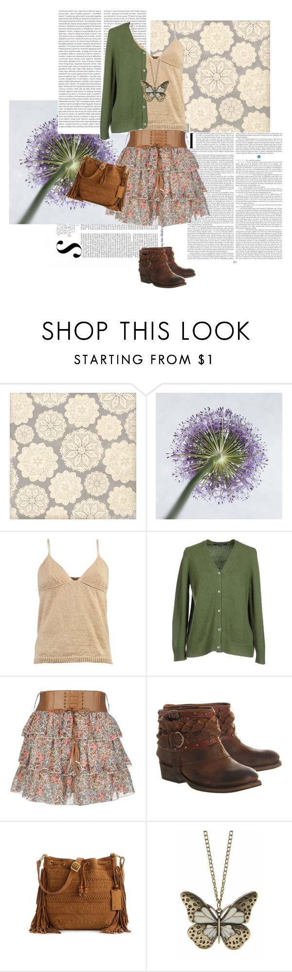 """""""Butterflyyyy"""" by zinnalee ❤ liked on Polyvore featuring Oris, Dries Van Noten, Sofie D'hoore and Office"""