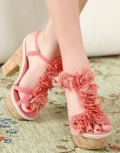 Photo of Pink Sandals – Shoes!