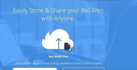 Firedrive, Almacenamiento en la nube Con 50 GB Gratuitos | Publicar nubila, Clarior | Scoop.it