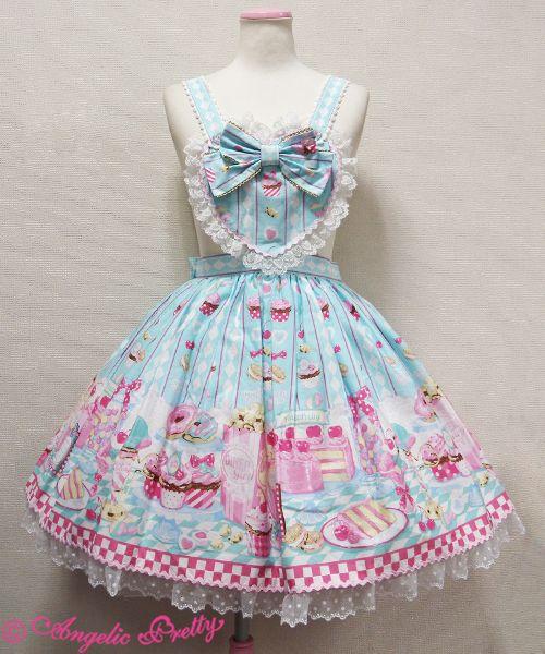 Angelic Pretty Diner Doll Skirt