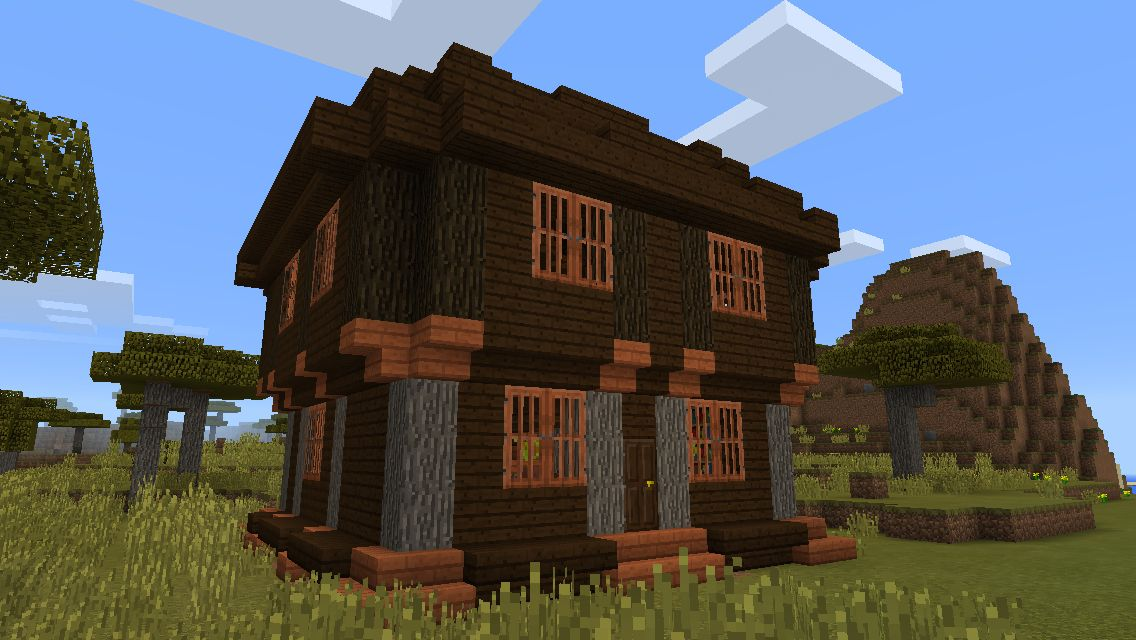 Minecraft savannah house | Minecraft creations | Minecraft creations