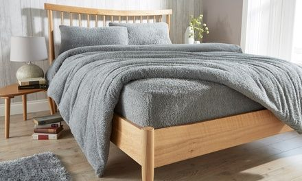Teddy Fleece Bed Fitted Sheets Extra Deep Luxury Fluffy Warm and Cozy All Sizes