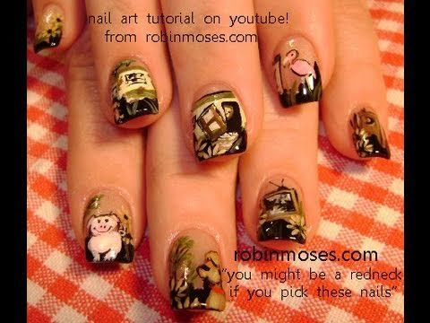 You Might Be A Redneck If You Pick These Nails Robin Moses The Nail