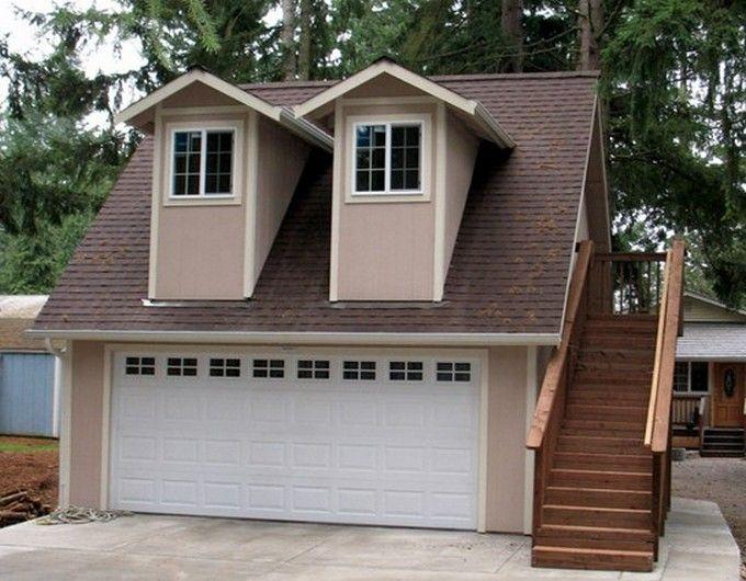 Tuff shed garage kits home building pinterest garage for Live in garage kits